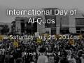 {01} [Al-Quds 2014] [AQC] Dearborn, MI | Quran | Youth | English