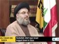 [14 Aug 2014] Nasrallah: Hezbollah can attack Israel upon Hamas request - English