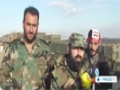 [17 Aug 2014] Syrian army trying to cut militant supply lines in southern parts of country - English