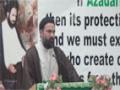 [02] Molana Hasan Mujtba Rizvi  - 26th Martyrdom Anni. Shaheed Arif Al-Hussaini - 03Aug14 - English