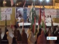 [22 Aug 2014] Pakistanis stage anti-government sit-in in Karachi - English
