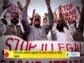 [08 Oct 2014] Pakistanis protest against US drone strikes in tribal region - English