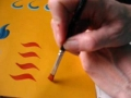 Free hand painting English part 2