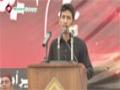 [یوم حسین ع] Salam : Br. Nazeer - 18 November 2014 - Karachi University - Urdu