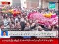 راولپنڈی: شہدائے میلاد مصطفیٰ (ص) کی نماز جنازہ - Urdu