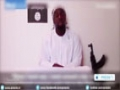 [12 Jan 2015] Video shows French terrorist pledging for ISIL, citing Syria & Mali - English