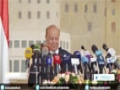 [22 Jan 2015] Yemen's President Hadi steps down, parliament rejects resignation - English