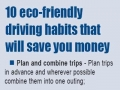 10 Eco Friendly Driving Habits for Saving Money - English