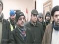 Toronto Protestors Presenting a Resolution to Pakistan Consulate  Against Shikarpur Massacre - Urdu