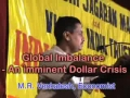 An imminent Dollar Crisis - M. R. Venkatesh - English