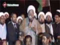 [وارثینِ شہداے سانحۃ شکارپور سے استقبالیہ خطاب] H.I Raja Nasir - 17 Feb 15 - Urdu