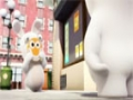 Animated Cartoon - Rabbids - STICKY RABBID - All Languages