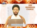 [01] Pre-Marriage Course - Molana Syed Zaki Baqri - Urdu & English