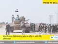 [09 Mar 2015] Iraq army, volunteer forces battling ISIL in north Tikrit - English