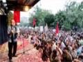 سخنرانی حاج سعید قاسمی در مراسم تشییع شهدای غواص - Farsi