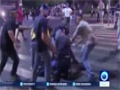 [23 June 2015] Israel forces clash with Ethiopian -Israeli protesters in Tel Aviv - English