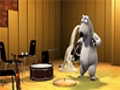 [Animated Cartoon] Bernard Bear - orchestra - All Language
