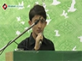 [27th Barsi Shaheed Quaid Arif Hussaini] Tarana : Br. Ahmed Nasri - 08 August 2015 - Urdu