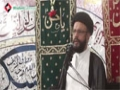 [03] Muharram1436 - Causes of Disgrace and Downfall of a Nation - H.I Zaki Baqri - Urdu