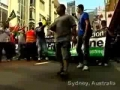 Thousands of people in Australia and Indonesia Protest against israel - Dec08 - Gaza massacre