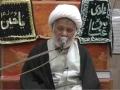 [08] Hikmate Azadari | حکمت عزاداری - H.I. Ghulam Abbas Raesi - 19th Muharram 1437/2015 - Urdu