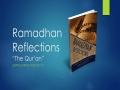 [Supplication For Day 2] Ramadhan Reflections - The Quran - Sh. Saleem Bhimji - English