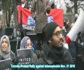Toronto Protest Rally Against Islamophobia - 21 Nov 2015 - English