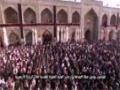 روضہ مولاعلی علیہ السلام میں نماز کے  پر نور مناظر - Arabic