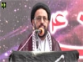 [یوم حسین ع] Speech : Maulana Sadiq Taqvi - 08 December 2015 - Jinnah Medical University - Urdu