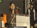 [Jashan e Eid e Milladun Nabi] 12 Rabbi-ul-Awwal 1437 - Br. Mazhar Ashrafi - Numaish, Karachi - Urdu