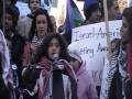 5th Calgary Protest - O Canada-English