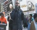 Ali Mallah at Toronto Protest to Condemn Sheikh Nimr Execution by Saudi Regime -English